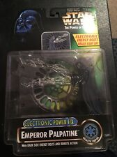 Kenner Star Wars Potf Electronic Power Efx Emperor Palpatine Action Figure