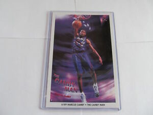 "MINT 1990's MARCUS CAMBY ""CAMBY MAN"" TORONTO RAPTORS ORIGINAL NBA MINI POSTER"