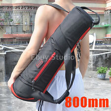 """800mm Padded Camera Tripod Bag Carry Shoulder Case 31.4"""" For Manfrotto Gitzo etc"""