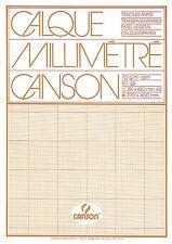 Canson Millimeterpapier 17136 A3 50bl Block