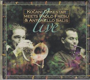 KOCANI ORKESTAR - meets Paolo fresu & Antonello Salis CD