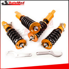 For 88-91 Honda Civic 90-93 Acura Integra Adj. Height Coilovers Suspension Kit
