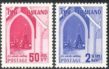 Thailand 1960 Leprosy Relief/Medical/Health/Welfare/Temple/Building 2v (n43581)