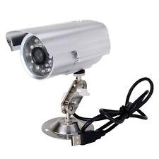 Wasserfest Outdoor CCTV Videoueberwachung Kamera DVR Nachtsicht auf Micro SD DE