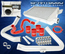 98-01 A4 Passat B5 1.8 Turbo Bolt-On Fmic Front Mount Intercooler Piping Kit Red