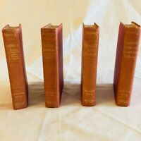 Rudyard Kipling Review of Reviews 1917 Authorized Editions 4 Book Set