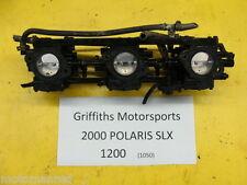 00 99 01 POLARIS SLX 1200 JET SKI carbs carburetors carburetor set 3 rack nice