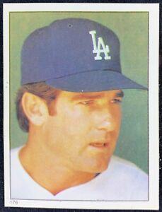 1981 Topps Stickers  #176 Steve Garvey Los Angeles Dodgers