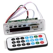 12V Wireless Bluetooth MP3 WMA Decoder Board Audio Module USB TF Radio for Car