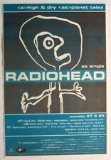 Radiohead 1995 promo Advert High And Dry the bends Planet Telex