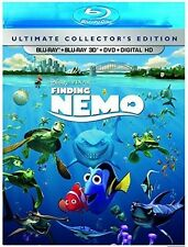 Finding Nemo - 4 DISC SET (2016, Blu-ray NEW)