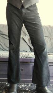 pantalons homme pattes d'eph Pop made in England 30 pour 29,5