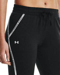 UNDER ARMOUR Rival Terry Taped Pant Damen Sporthose - NEU - 1361095-001
