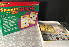 EDUPRESS SPANISH IN A FLASH BINGO SET 2 Up To 36 Players