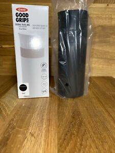 OXO Good Grips Thermal Travel Mug 12 oz Black Stainless Steel Double-wall