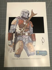 Star Wars Celebration Mandalorian Print - Signed & Limited Chicago 2019