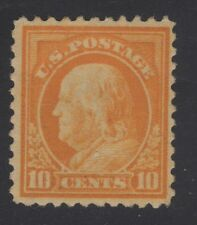 U.S. STAMP #510 10c WASH-FRANK FLAT, p11,UNWK 1917 MINT