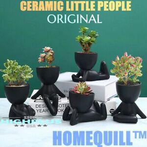 HOMEQUILL™ CERAMIC LITTLE PEOPLE FLOWER POT - ORIGINAL KIT