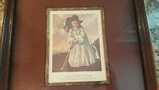 A Young Golfer of the XVII th Century, Framed, Vintage, Antique