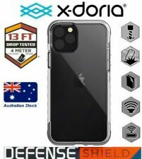 X-Doria Defense Air Protective case for iPhone 11 Pro Max Clear Silver Transpare