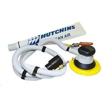 "Hutchins Self-Generating Random Orbital Sander w/ 3/16"" Offset 6"" Hook Pad 8970H"