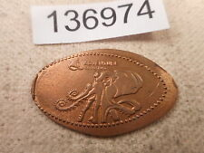 Elongated Cent Rolled Coin - Adventure Aquarium - Nice Collectible - # 136974