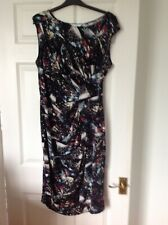 Ladies M & S Multicoloured dress Size 16