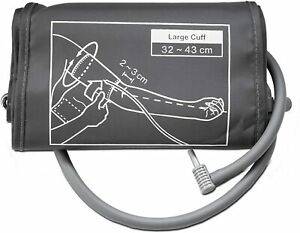 Suresign Blood Pressure Monitor Replacement Large Cuff for Upper Arm 32 - 43cm