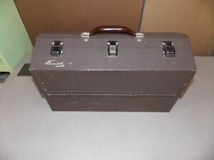 Kennedy Kits Style No. 1117-AL Fishing Tackle Box Machinist Tool Box Fold-Out