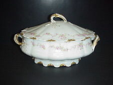 Theodore Haviland Limoges France Soup Tureen Schleiger 341A No Chips