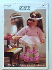 Wendy - Baby Doll & Sindy Clothes - Original Knitting Pattern