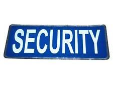 Bleu sécurité Insigne Réfléchissant Large for Guard Officer SIA Patrol