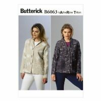 Butterick Sewing Pattern 6063 Misses Jacket Size 8-16