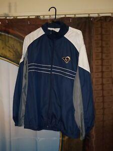 NFL Team Apparel Rams Jacket Size XL Rams Windbreaker Size XL Sports Illustrated
