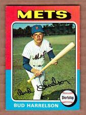 1975 Topps #395 Bud Harrelson New York Mets Near Mint cond. pack fresh sharp