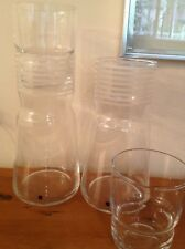 New listing 1 Sagaform Water Carafe & Glass - Hand Blown Sweden - Sell New for $84
