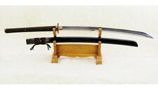 Naginata Japanese Sword Shihozume Clay Tempered Full Tang Ryaskin Saya Sharp