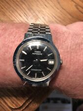 Vintage Timex mens AUTOMATIC water Resistant watch, runs Great!