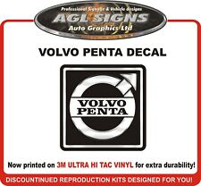 VOLVO PENTA SX-A  Reproduction Outdrive Decal   SX