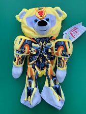 "Build a Bear 16"" Transformersâ""¢ Bumblebeeâ""¢ Bear Plush Toy - Unstuffed - Nwt"