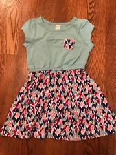 Girls' Gymboree Dress w/ Heart Print Skirt & Pocket NWT GYM27
