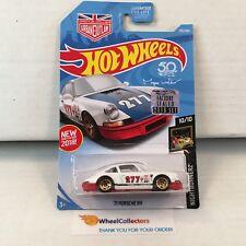 '71 Porsche 911 #235 * White * 2018 Hot Wheels Factory Set * b27