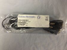 Extron 26-490-01 VGA-A M-M MD/3 Male to Male VGA and Audio Cables -Molded Connec