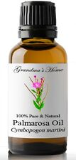 Palmarosa Essential Oil - 30 mL 100% Pure and Natural Free Shipping - US Seller