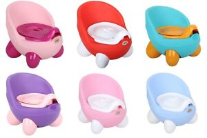 Baby Potty Toilet Training Chair Seat, Easy Removable Toilet with Lid Cover.