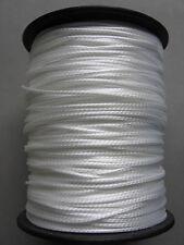 White Dyneema Rope. 1mm 2mm 3mm 4mm. Various Lengths.