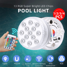 More details for led submersible light waterproof hot tub underwater lights swimming pool pond