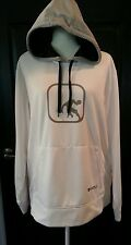 AND 1 White Long Sleeve Hoodie Sweatshirt Size L