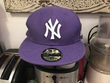 "NY Yankees Purple New Era ""59Fifty"" Official Baseball Cap (7-1/4)"