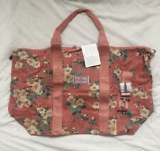 CATH KIDSTON FOLDAWAY OVERNIGHT BAG Mayfield Blossom Rrp £50 Dusty Pink